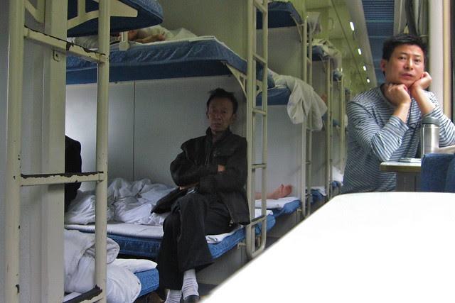 Hard sleeper, Xichang - Chengdu