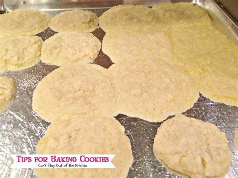 tips  baking cookies  stay    kitchen