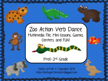 Zoo Action Verb Dance Mini Video Fun