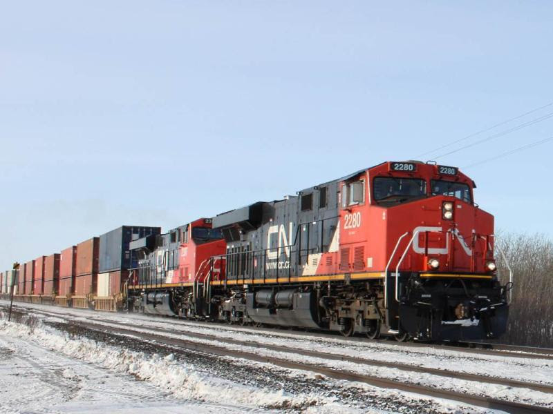 CN 2280 in Winnipeg