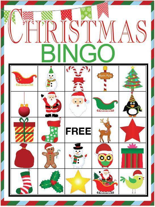 1000+ ideas about Christmas Bingo on Pinterest | Kids christmas ...