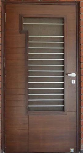 kerala front double door design  | 270 x 499