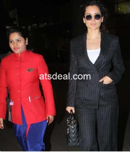 Kangana Ranaut Bollywood celebrities who nailed their airport look