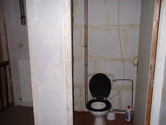 Toilet inside the Juvigne house
