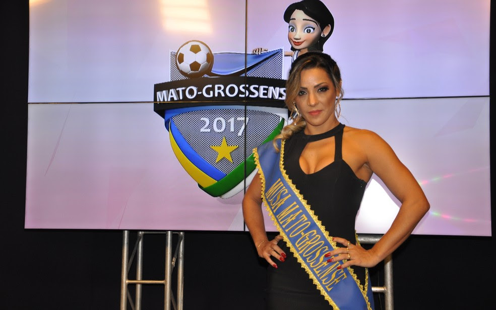 Débora Costa Vaez; Musa do Mato-Grossense (Foto: Robson Boamorte)