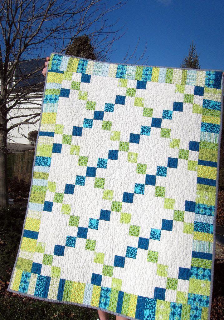 Perfect colors, simple design with a border to pop it