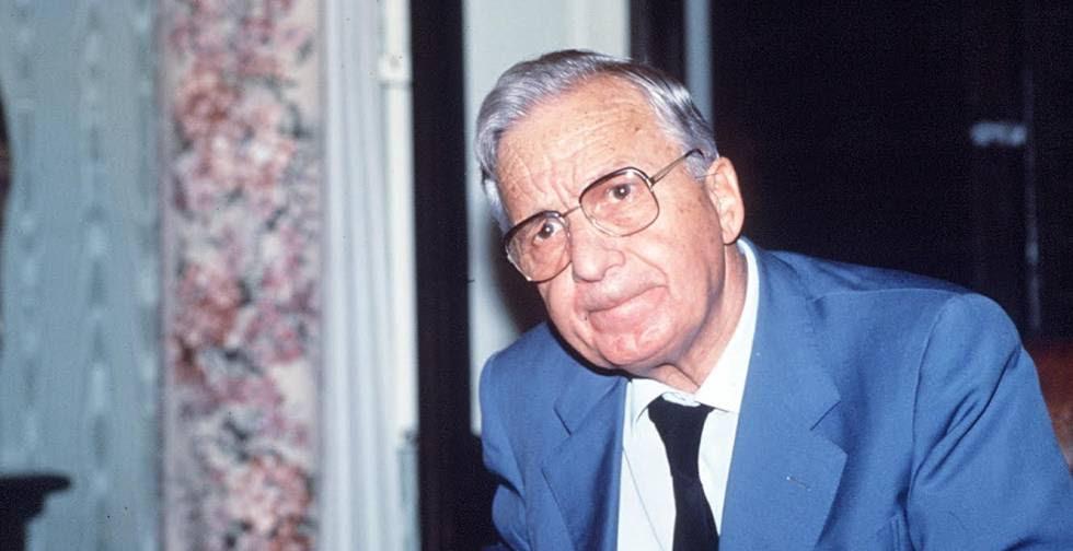 Licio Gelli, líder de la logia masónica P2, en una imagen de archivo.