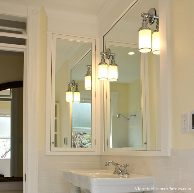 Vintage Inspired Diy Bathroom Remodel Before And After Photos