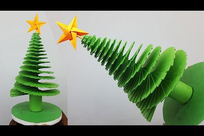 3d Paper Craft Christmas Tree