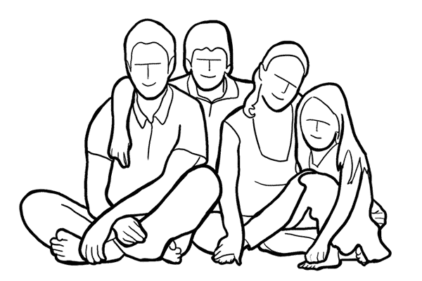 Позирование: позы для групповых портретов 13