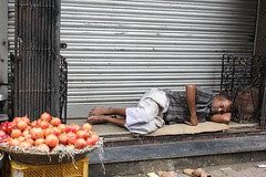 HE IS DREAMINGTHAT ONCE AGAIN ONIONS BECOME RS 200 A KG by firoze shakir photographerno1