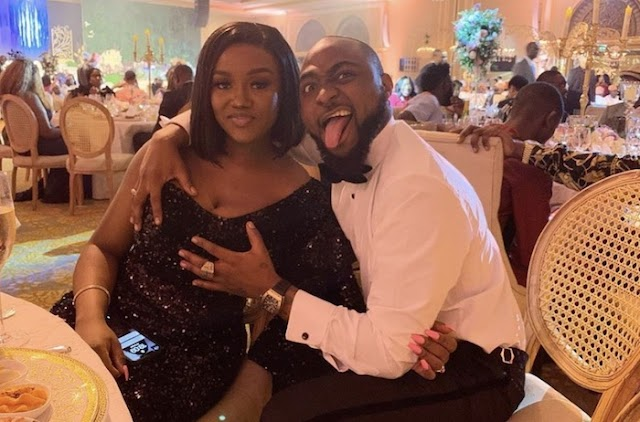 """#Davido Boasts About Giving His Fiancee, Chioma """"Cucumber"""" In The Shower"""