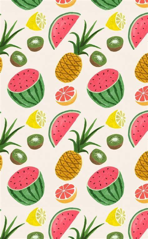Food fruit pattern   wallpaper.sc iPhone4s