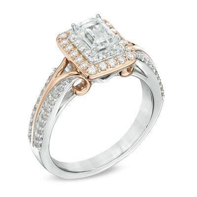 Vera Wang LOVE Collection 1 CT. T.W. Emerald Cut Diamond