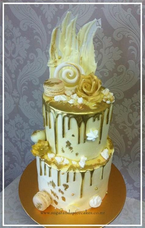 Pin by CakesDecor.com on Wedding Cakes   Drip cakes, Cake