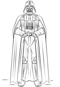 Coloriage de Star Wars épisode 7 le réveil de la force, de