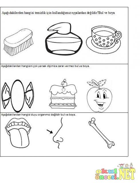 Komik Fipixde Sağlık Ve Temizlik Ile Ilgili Boyamalar 2