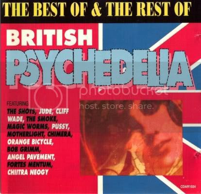 The Best of and the Rest of British Psychedelia/ Morgan Blue Town