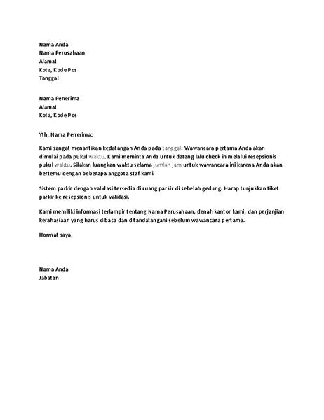 Contoh Surat Lamaran Kerja Di Pt Musim Mas