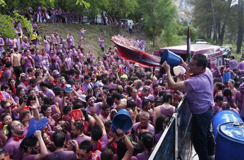 Haro celebra la Batalla del Vino