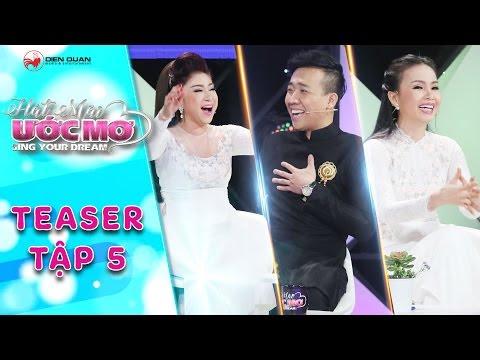Hát mãi ước mơ | teaser tập 5: Trấn Thành, Cẩm Ly, Thoại Mỹ hào hứng nhảy Sóc Sờ Bai Sóc Trăng
