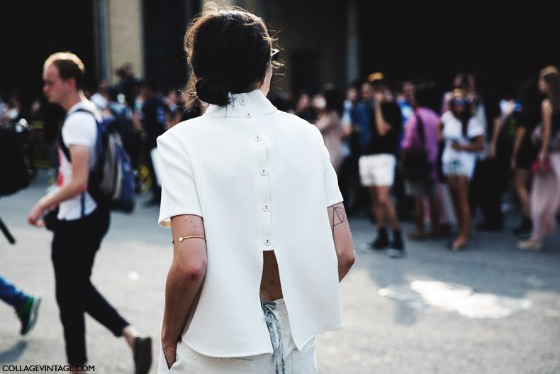 New_York_Fashion_Week_Spring_Summer_15-NYFW-Street_Style-White_Outfit-Open_Back-