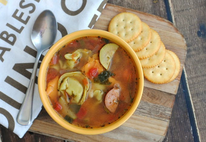 Tortellini & Sausage Soup Recipe