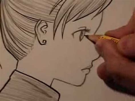 draw manga faces  profile  ways youtube