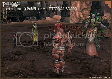 Postcards of Azeroth: A Pawn on the Eternal Board