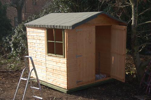 allotment shed Feb 13 1