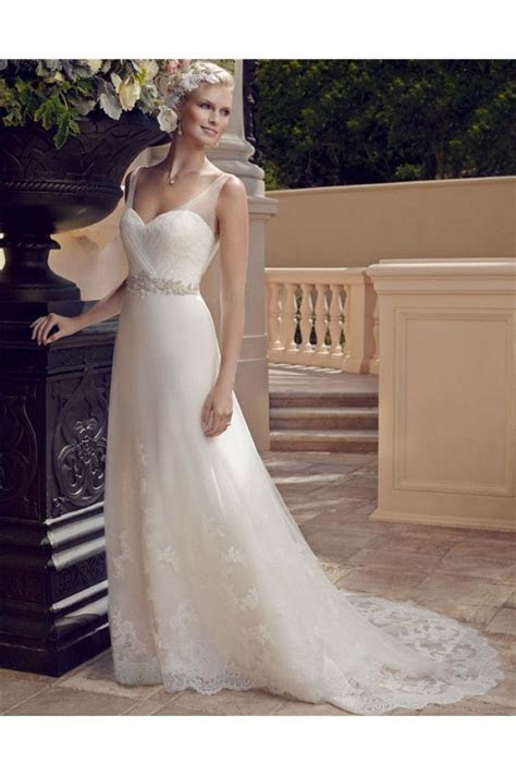 A Line Sweetheart Neckline Open Back Tulle Lace Beaded