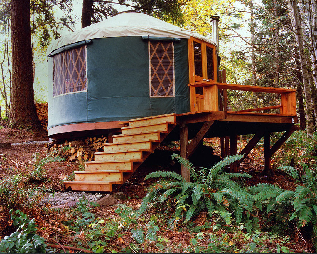16 Pacific Yurt Guest House Ext