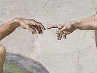 Creation of Adam (Michelangelo) Detail.jpg