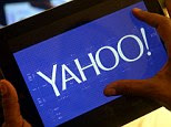 Exposed: Among the most disclosures in documents leaked by former NSA systems analyst Edward Snowden, were reports that GCHQ intercepted and stored the images of millions of people using Yahoo webcams. Yahoo (logo pictured) said that that the move was 'a whole new level of violation of our user's privacy'
