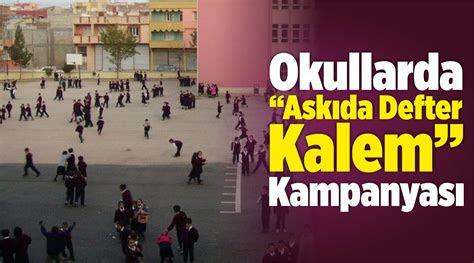 izmirdeki okullarda askida defter kalem kampanyasiege