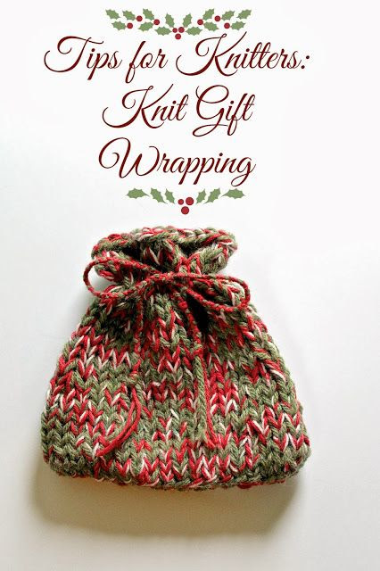 Lexalex: Tips for Knitters: Knit Gift Wrapping