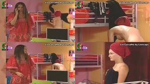 Lia Carvalho topless a mudar de roupa nos Morangos com açucar