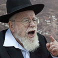 Rabbi Dov Lior Photo: Ohad Zwigenberg