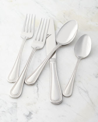 Stainless Flatware Service | Neiman Marcus
