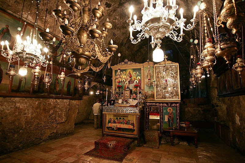 File:Tomb of the Virgin Mary. Altar.jpg