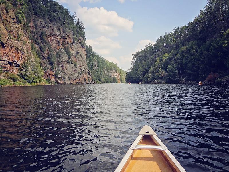 Barron Canyon, Canoe & Hike