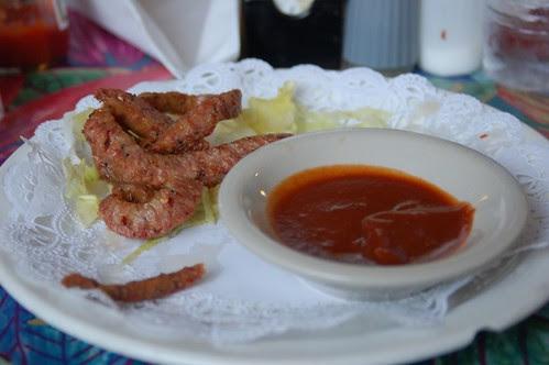 Alligator sausage