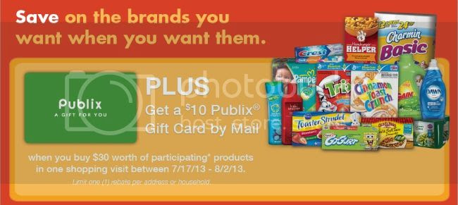 Running Out? Run In! rebate + Enter to win a $25 Publix Gift Card! #Giveaway