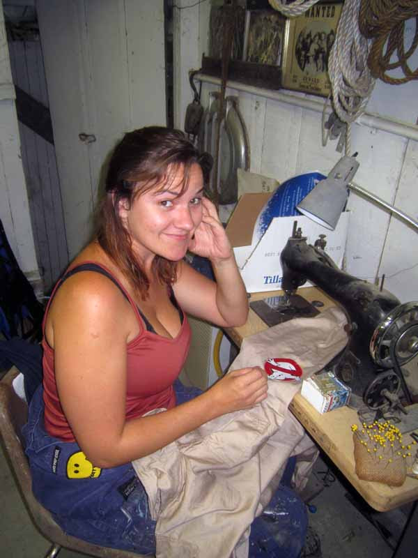 Jenny Sewing