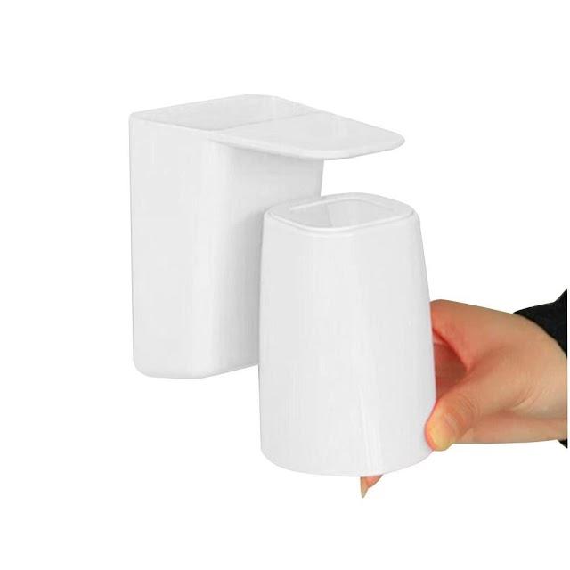Недорого Магнитная присоска для полоскания рта многофункциональная подвесная белая, розовая, синяя чашка зубной щетки Недорого H2 Купить Онлайн