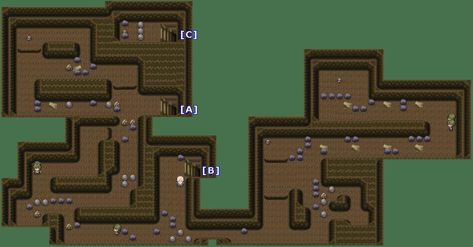 Wayward Cave Map Wayward Cave Map | Color 2018