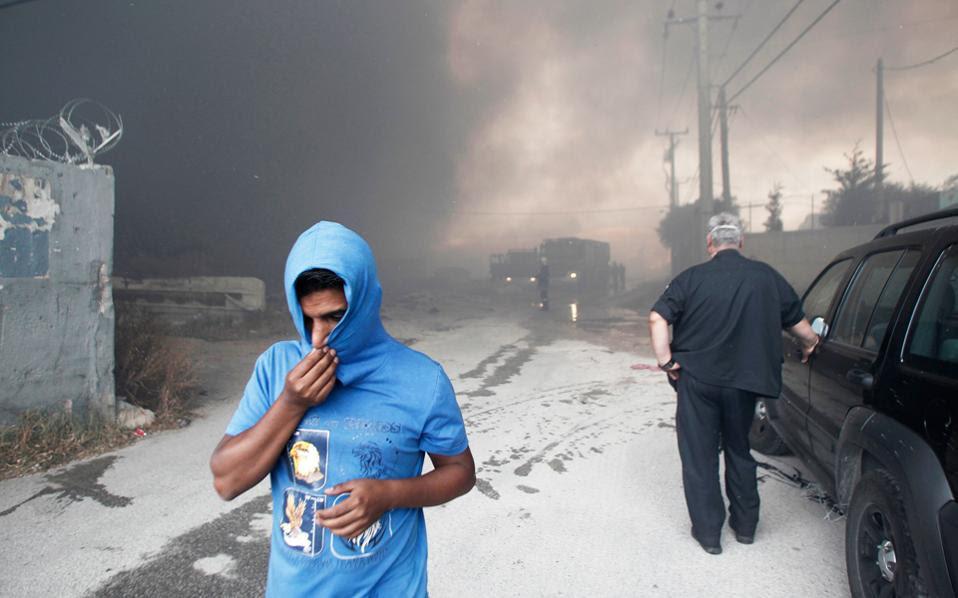 ΑΠΘ:Επιδράσεις στην υγεία κατοίκων είχε η φωτιά στον Ασπρόπυργο