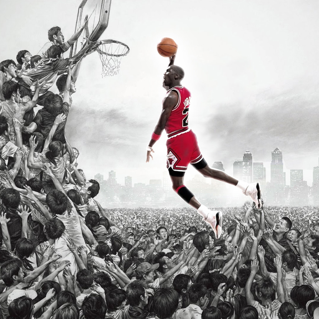 Michael Jordan  iPad Wallpaper  Download free iPad wallpapers \u0026 backgrounds