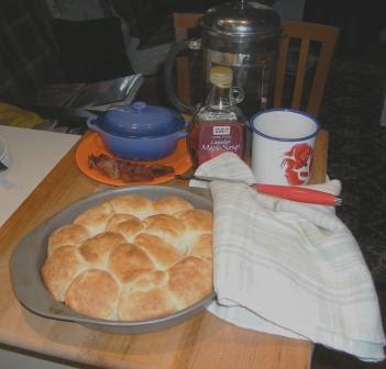 Good New England Breakfast from My Neighbor Chris