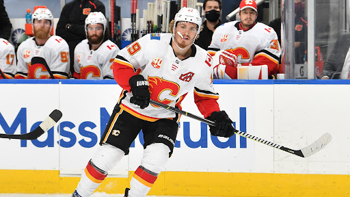 Avatar of Matthew Tkachuk out for Flames in Game 3